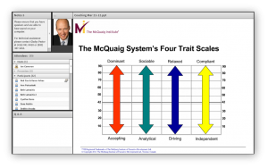 Coaching with the McQuaig Psychometric System webinar