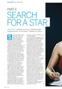 Search for a Star 4 - the McQuaig Psychometric System