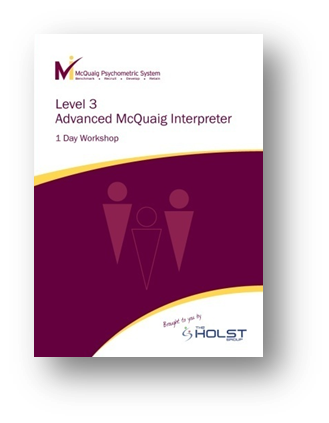 Level 3 Advanced Interpreter for the McQuaig Psychometric System
