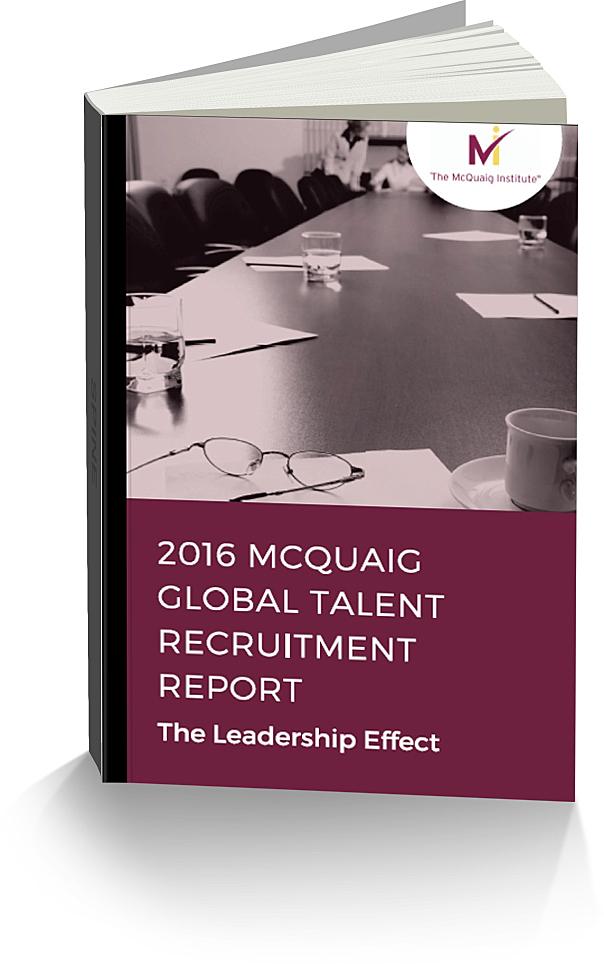 McQuaig Global Talent Recruitment Report 2016