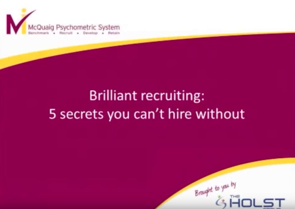 brilliant recruiting