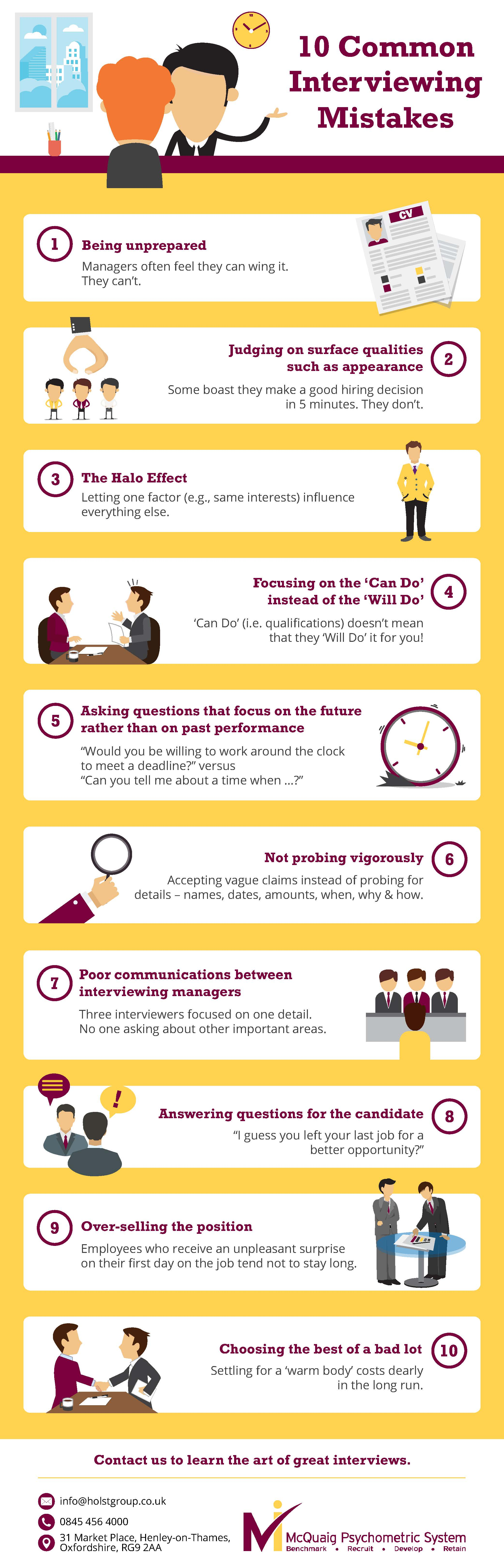 10 Common Interviewing Mistakes resized