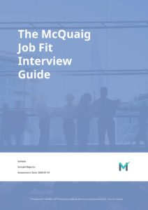Sample Report - Job Fit Interview Guide