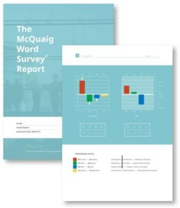 mcquaig word survey report