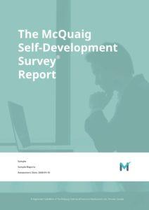 Sample Report - McQuaig Self Development Survey